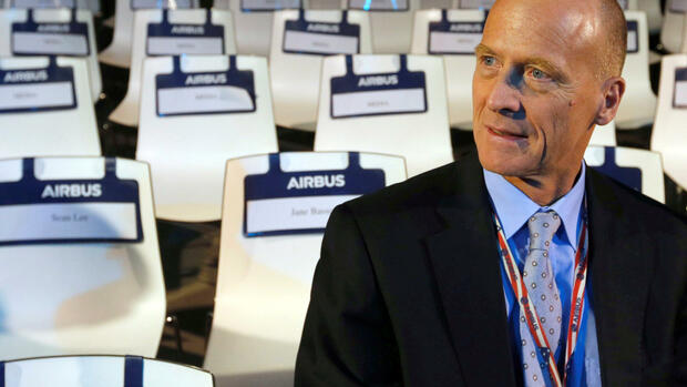 Airbus-Chef Tom Enders Quelle: REUTERS