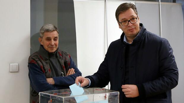 Serbiens Präsident gewinnt Kommunalwahl in Belgrad