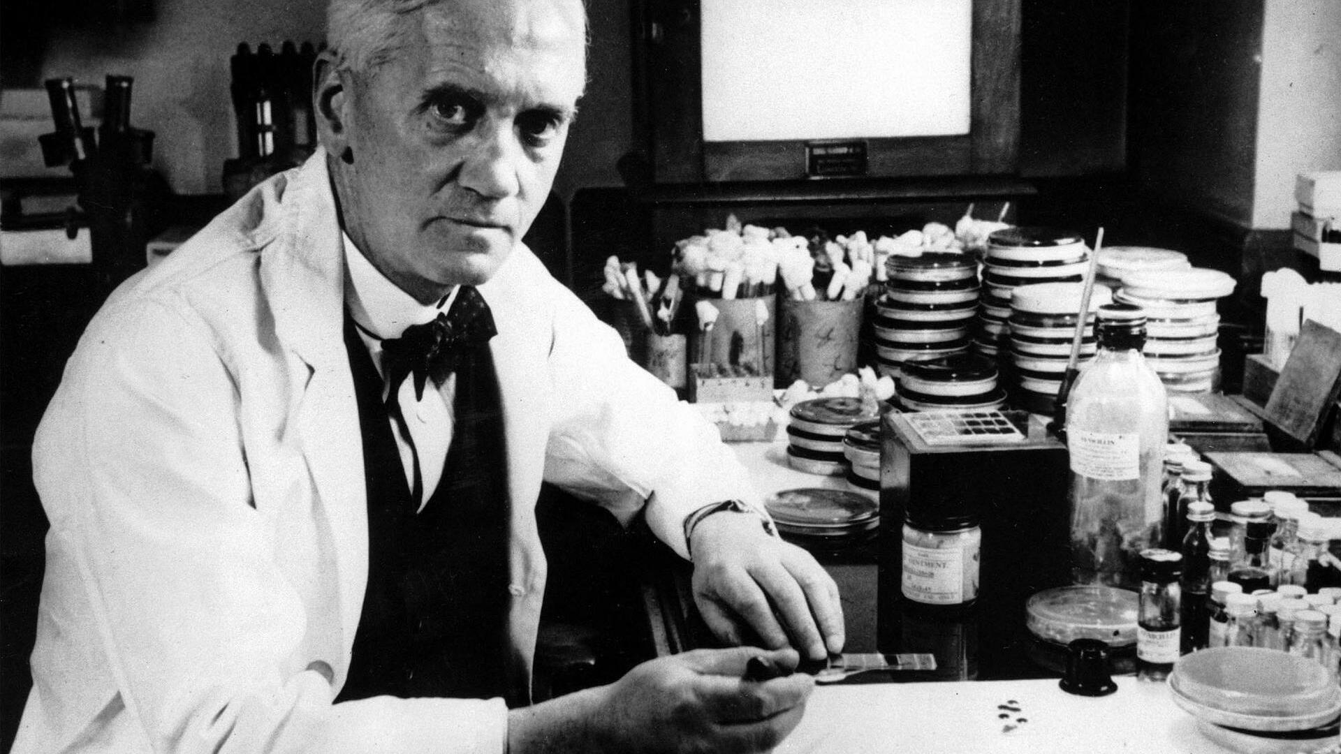 Sir Alexander Fleming Quelle: AP