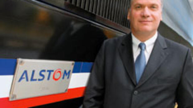 Alstom-Transport-Chef Philippe Mellier Quelle: Laif