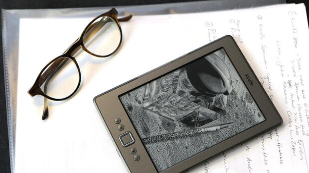 eBook-Reader Quelle: dpa