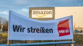 Arbeitskampf:Verdi plant internationale Streiks gegen Amazon