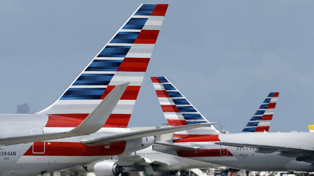 American-Airlines-Flieger am Miami International Airport. Quelle: AP