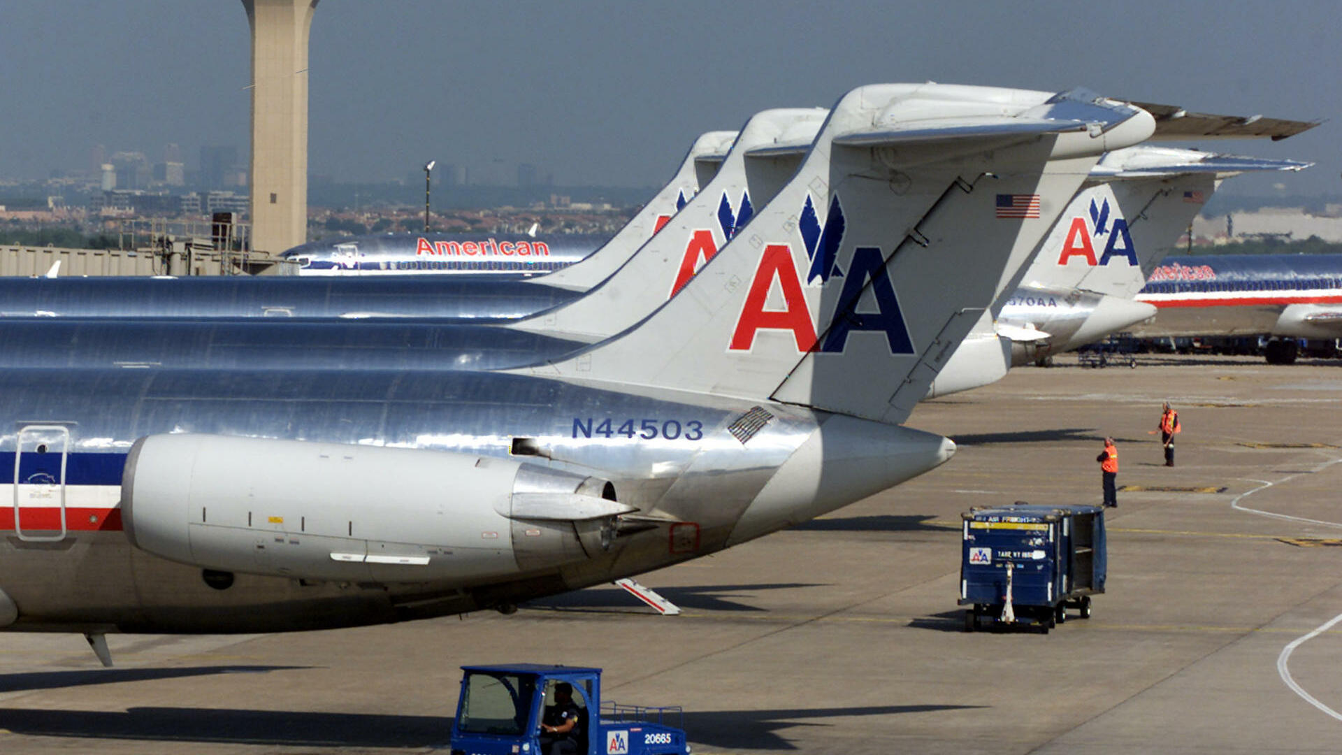 Airport Dallas/Fort Worth Quelle: AP