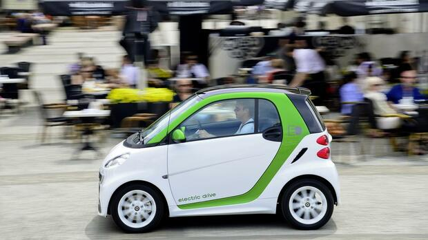 Smart fortwo electric drive Quelle: Daimler