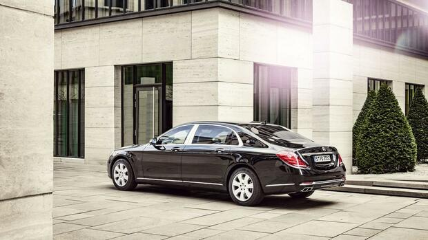 Mercedes-Maybach S600 Quelle: Daimler