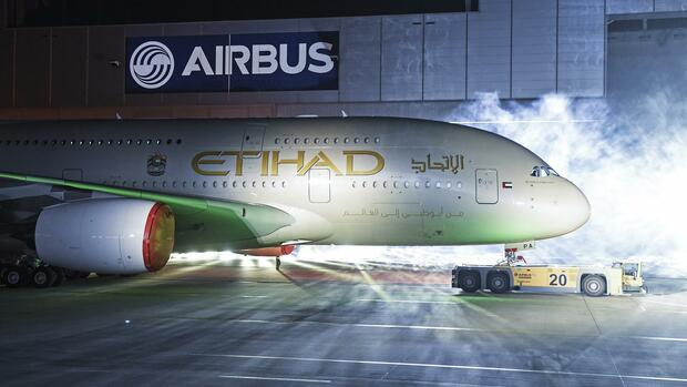 Etihad Airways Quelle: REUTERS