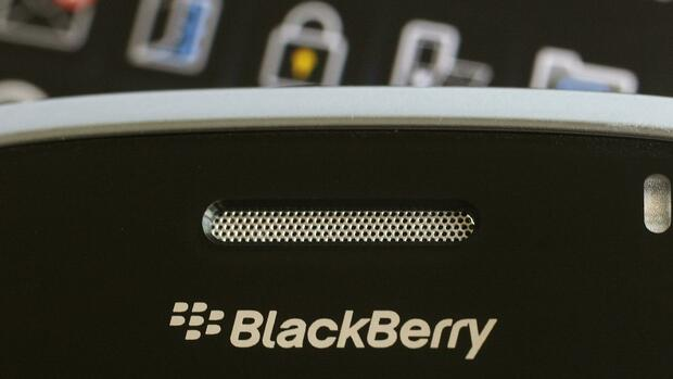 Blackberry-Logo Quelle: REUTERS