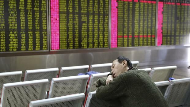 Börse in China Quelle: REUTERS