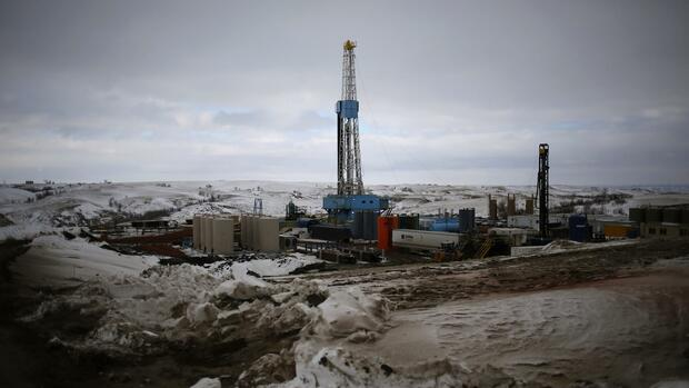 Ölförderung durch Fracking in Williston, North Dakota Quelle: Reuters