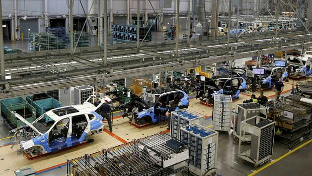 BMW-Werk Spartanburg Quelle: REUTERS