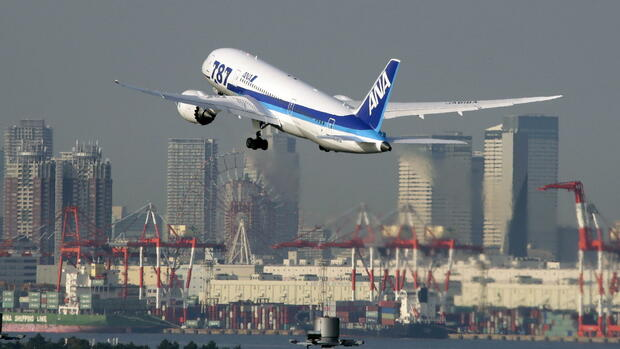 Ana All Nippon Airways Quelle: dpa