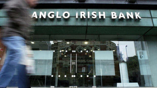 Anglo Irish Bank in Belfast Quelle: dpa