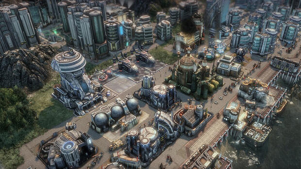 Screenshot Anno 2070 Quelle: screenshot