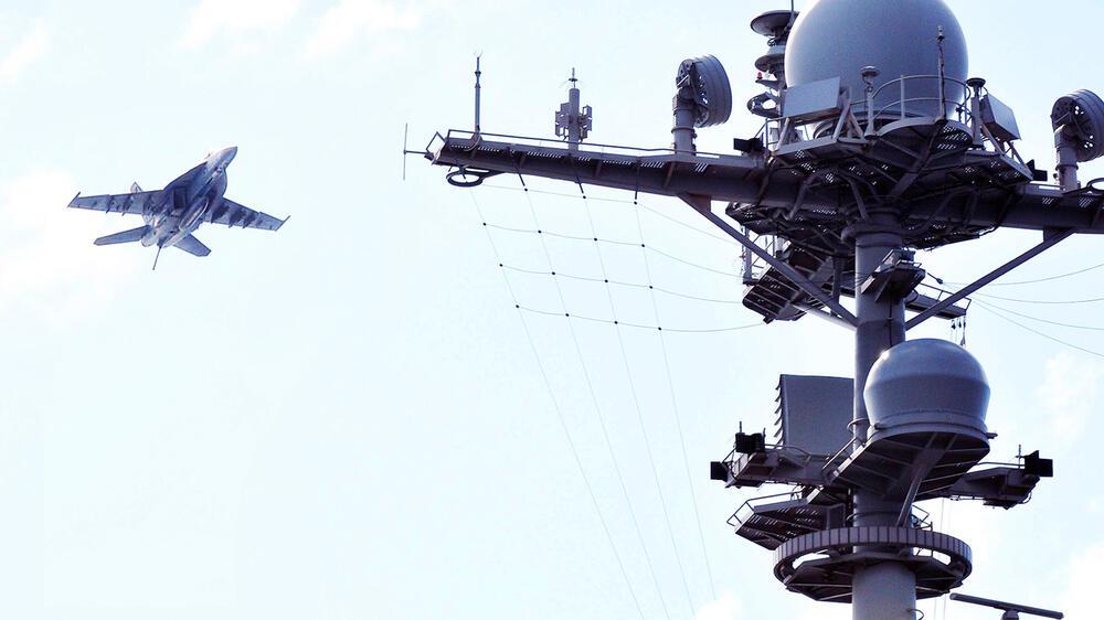 Das US-Militär beansprucht 5G-Frequenzen für sich, etwa um die Kommunikation in ihrer Armada zu organisieren. Quelle: imago images