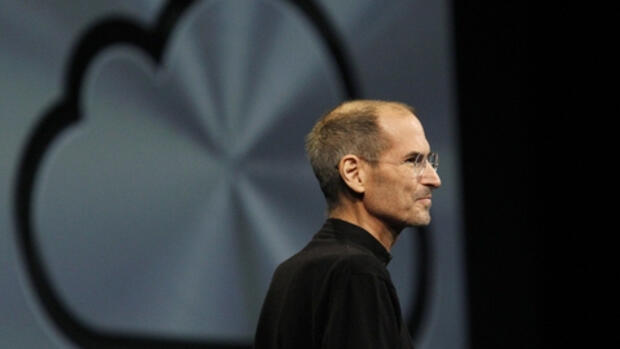 Apple-Chef Steve Jobs auf der Quelle: REUTERS