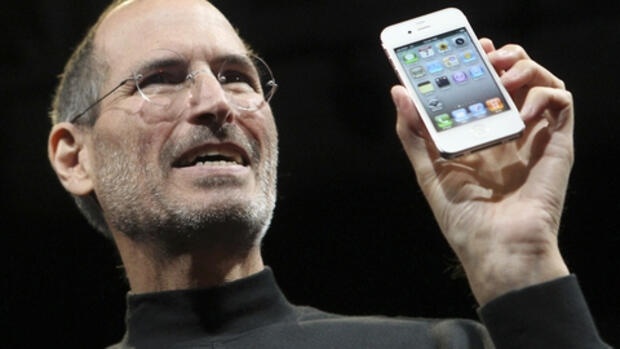 Apple-Chef Steve Jobs Quelle: REUTERS