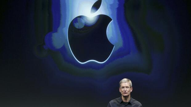 Apple-Chef Tim Cook Quelle: REUTERS