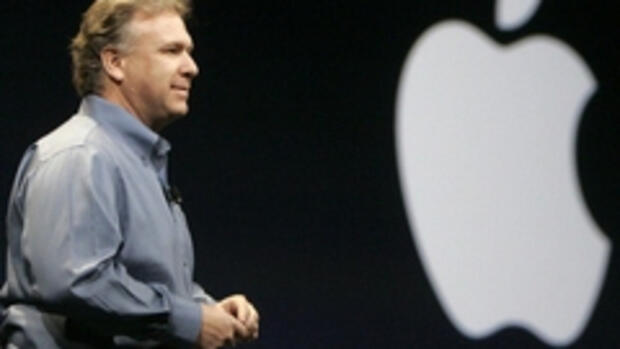 Apple-Marketingchef Philip Quelle: REUTERS