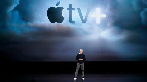 Apple TV Plus: Verhaltene Reaktionen Apples neuen Streamingdienst Quelle: dpa