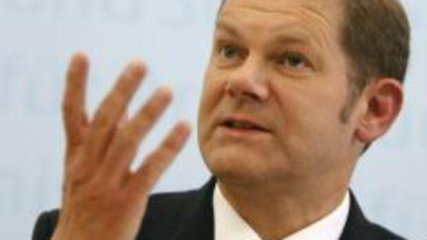 Arbeitsminister Olaf Scholz Quelle: REUTERS