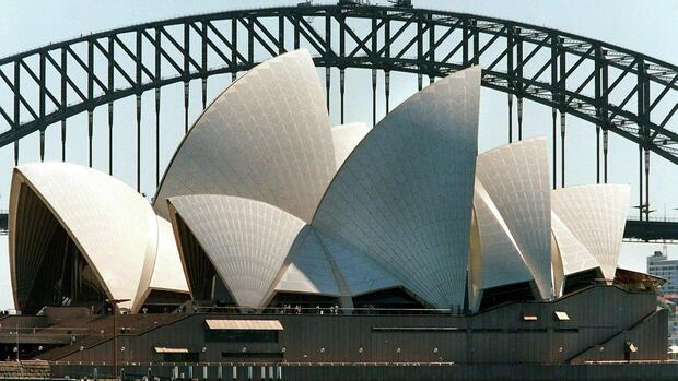 Oper in Sydney Quelle: dpa