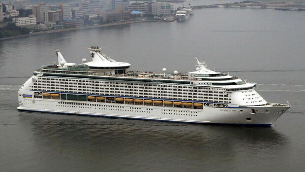 "Foto der Voyager of the Seas"" Quelle: dpa"