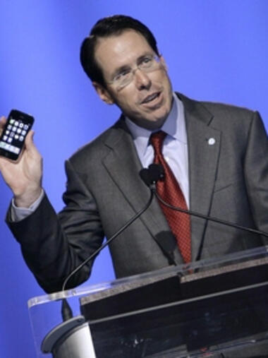 AT&T-Chef Randall Stephenson Quelle: REUTERS