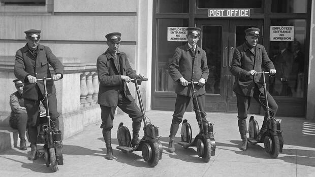 Der Krupp-Roller: Als Scooter noch Benzinmotoren hatten