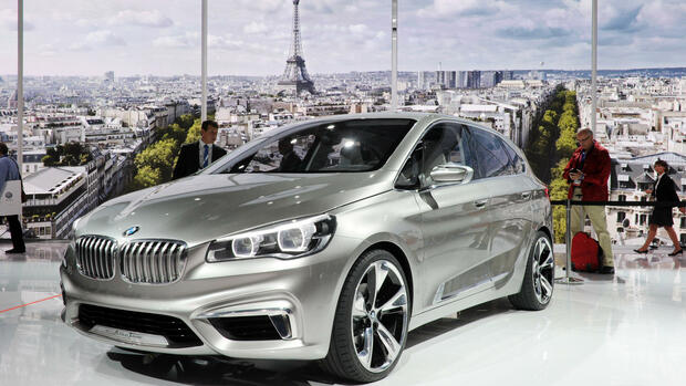 Der BMW Active Tourer Quelle: dpa