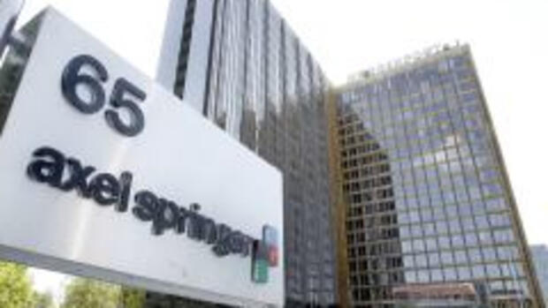 Axel-Springer-Verlag in Berlin Quelle: AP