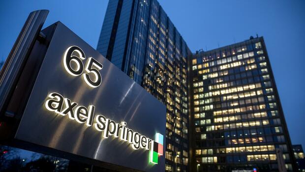 Axel Springer steigert den Umsatz und erhöht die Dividende
