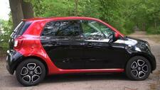 Auto: Smart Forfour: Ultraschnell Laden im City-Format