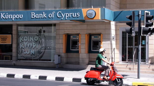 Die Bank of Cyprus Quelle: dpa