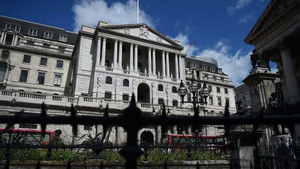 Bank of England – London Quelle: dpa