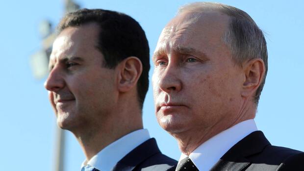 Putin: Militärschlag gegen Syrien ein Akt der Aggression
