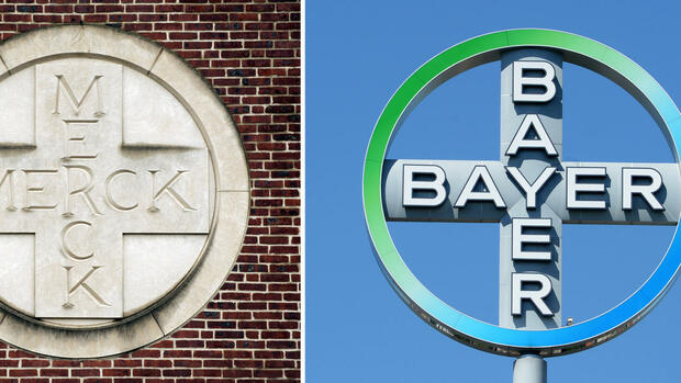 Bayer AG und Merck & Co Consumer Care Business Quelle: dpa