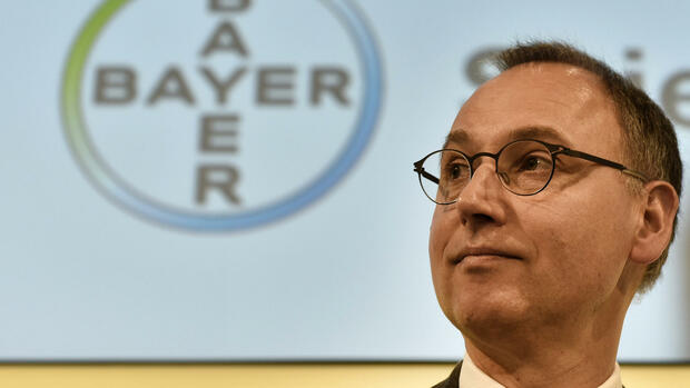 Bayer-Chef Werner Baumann Quelle: AP