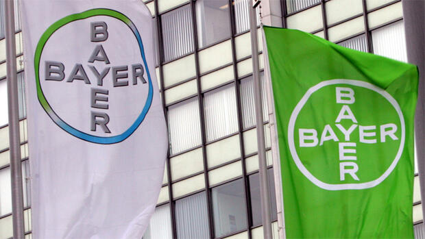 Bayer Logo Quelle: dpa