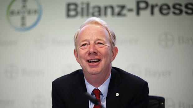 Bayer-Chef Marijn Dekkers. Quelle: REUTERS