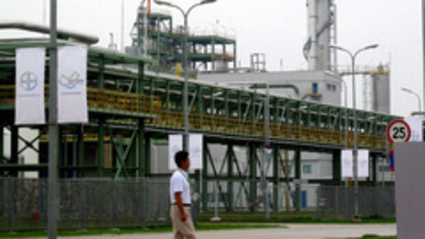 Bayer-Werk in Caojing: 2,1 Quelle: AP