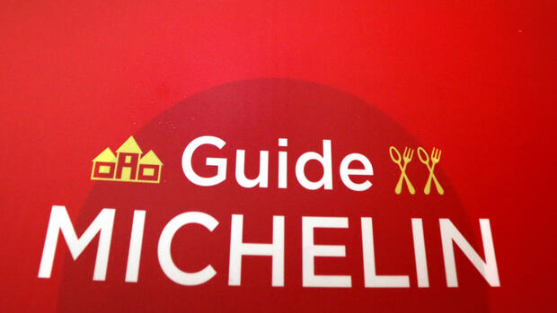 Logo des Guide Michelin Quelle: dpa