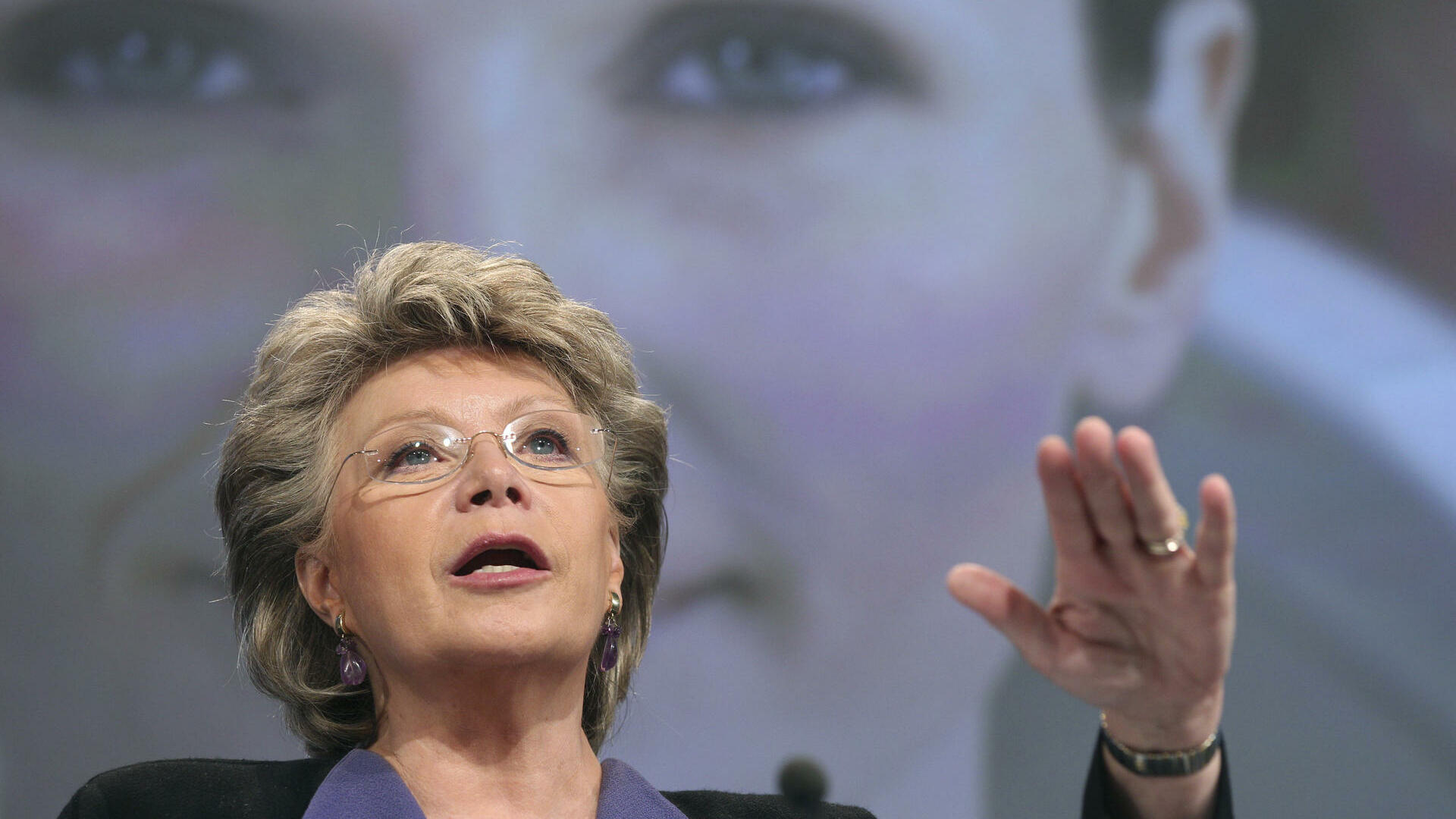 European Commissioner for Justice, Fundamental Rights and Citizenship Viviane Reding Quelle: dapd