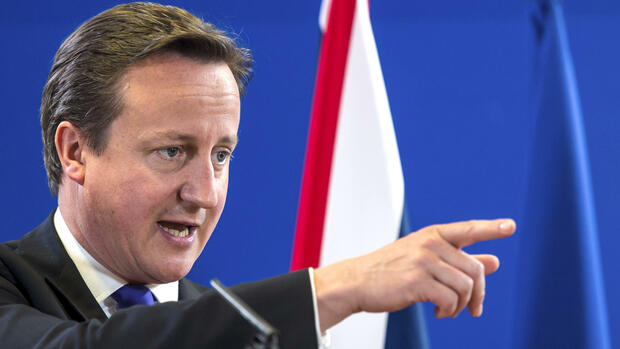 David Cameron Quelle: dapd