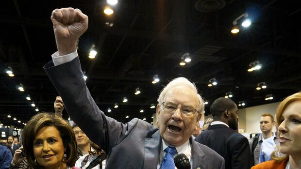 Warren Buffett, der CEO von Berkshire Hathaway. Quelle: REUTERS