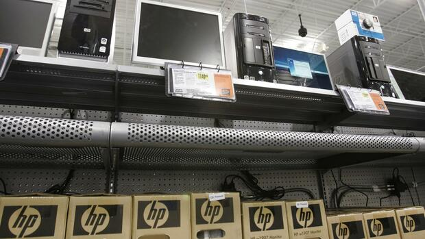 Hewlett-Packard Quelle: AP