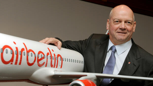 Ex-Air-Berlin-Chef Joachim Hunold Quelle: dpa