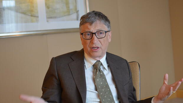 Milliardär und Philanthrop Bill Gates Quelle: dpa