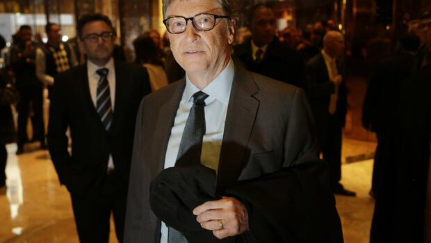 Platz sieben: Bill Gates Quelle: AP