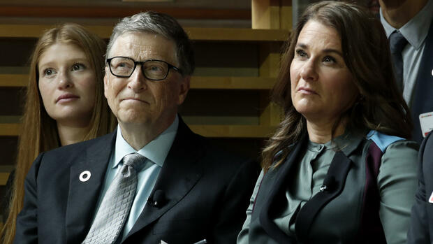 Bill und Melinda Gates Quelle: AP